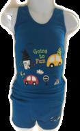 Ondergoed set Hemd & Boxer met print