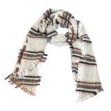 sjaal winter stars & stripes roze