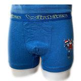 jongens boxershort blauw