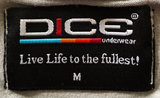 dice underwear live life to the fullest