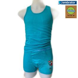 Embrator Jongens Ondergoedset GoGo turquoise 10-11 jaar