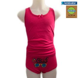 Embrator Meisjes Ondergoedset Cool fuchsia 10-11 jaar