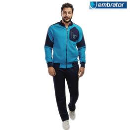 Embrator Joggingpak turquoise blauw / donkerblauw