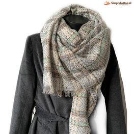 Wintersjaal Granny Knit