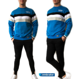 Embrator Joggingpak Dynamic kobaltblauw/zwart