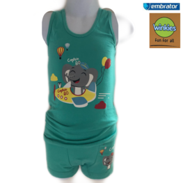 Embrator Jongens ondergoed set hemd+boxer Captain Bo