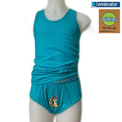 Embrator Jongens Ondergoedset Surf turquoise 10-11 jaar