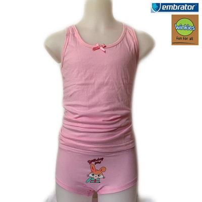 Embrator Meisjes Ondergoedset Birthday Girl roze 2 t/m 7 jaar