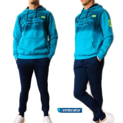 Embrator Joggingpak Specialty turquoise/donkerblauw