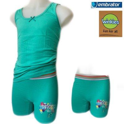 Embrator Meisjes ondergoed setje Princess zeegroen 10-11 jaar