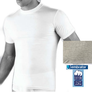 embrator heren t-shirt ronde hals grijs