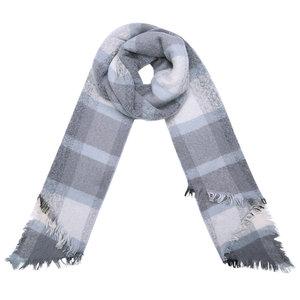 sjaal double check grijs