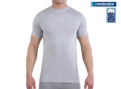 embrator t shirt grijs mannen