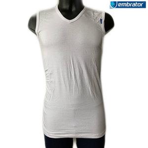 embrator mannen t-shirt mouwloos v-hals