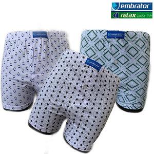 embrator 3-pack heren boxershort loose fit