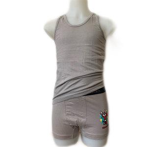 embrator jongens ondergoedset grijs