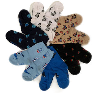 jongens sokken met design