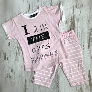 DICE I am Cats pyjama Rose