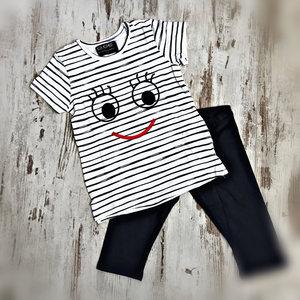 DICE Smile pyjama blauw alleen maat 122/128