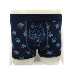 DICE Underwear Boxer Wolf blauw Alleen S